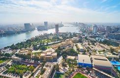 观点在开罗,埃及 图库摄影