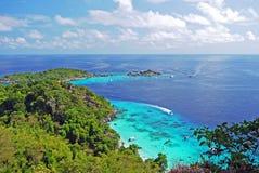 观点在Similan海岛 库存照片
