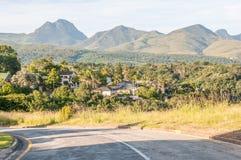 观点的乔治在南非 图库摄影