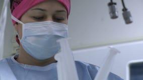 观点的护士 股票视频