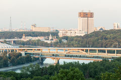 观点的科学院和Shukhov塔 库存图片