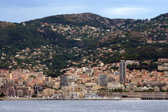 观点的蒙地卡罗,摩纳哥 库存图片