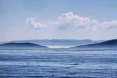 观点的马尔马拉Islands王子 库存图片
