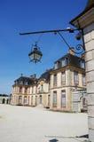 观点的Castle de La Motte蒂利 库存图片