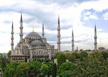 观点的Hagai索菲娅,伊斯坦布尔,土耳其 库存图片