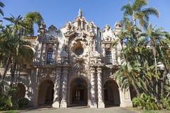 casa在巴波亚公园,圣迭戈的del Prado 免版税库存照片