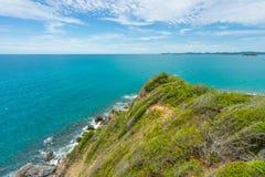 观点酸值西康省海岛,芭达亚,春武里市,泰国 库存照片