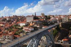 观点,波尔图,葡萄牙 免版税库存照片