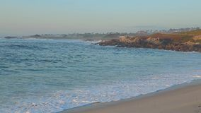 观点Pebble海滩蒙特里加利福尼亚 股票录像
