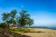 观点Samila海滩 免版税库存照片