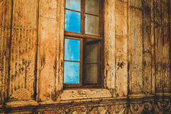 观看在老清真寺里面在开罗,埃及 免版税库存图片