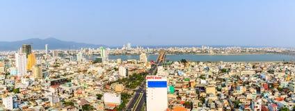 观看所有岘港市 免版税库存照片