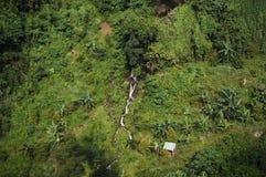 观看瀑布(Aling Aling) 库存照片