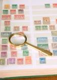 观看的邮票 免版税图库摄影