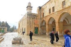 观看神圣的地方耶路撒冷 免版税库存图片