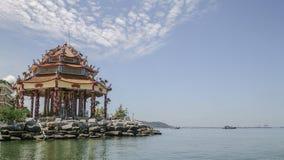 观音工业区中国人寺庙 库存图片