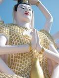 观音工业区苏梅岛12月2015年泰国雕象  库存图片