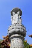 观音工业区雕象 库存图片
