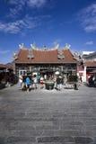 观音菩萨的寺庙在槟榔岛马来西亚 库存图片