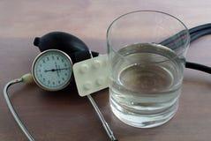 规则血压测量 库存图片
