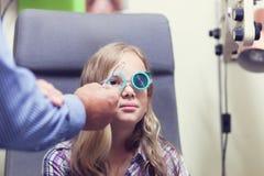 视力测验 库存图片