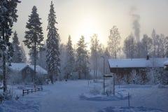 视图冬天 免版税库存图片