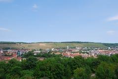 视图横向würburg 免版税图库摄影