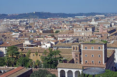 视图的罗马 免版税库存照片