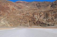 视图盐湖在Death Valley 图库摄影