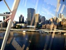 视图通过视窗 布里斯顿 免版税图库摄影