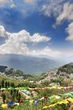 视图从在Gangtok,印度的Tashi观点 库存图片