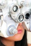 视域测试 库存照片