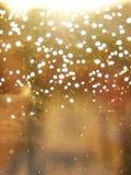 视窗和雨 库存照片