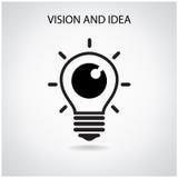 视觉和想法概念 免版税库存照片