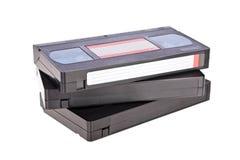 视频卡式磁带老的磁带 免版税库存照片