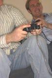 视频的gamers 库存图片