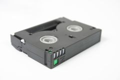 视频5个数字式的磁带 免版税库存图片