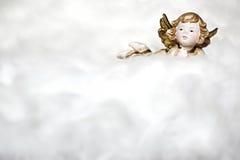 角度云彩甜点 免版税库存照片