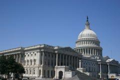 角度国会大厦后方 库存照片