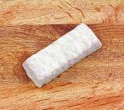 角材能源酸奶 免版税库存照片