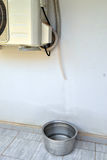角色水管撤离空调器 库存图片