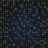 黑角规抽象背景  网站的墙纸 小长方形被连接 发光的背景 新技术 库存例证