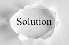 解决方法 免版税图库摄影