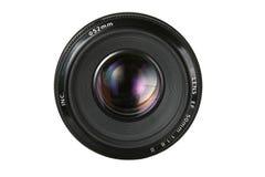 解决透镜照片 免版税库存照片