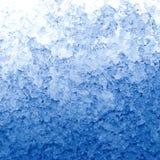 解冻的雪 免版税库存照片
