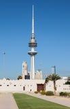 解放塔在科威特市 库存图片