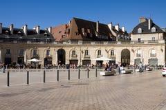 解放正方形在第茂,法国 库存照片