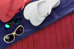 触发器太阳镜 免版税图库摄影