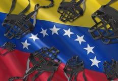 言论自由和人权在委内瑞拉 免版税库存照片