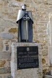 詹姆士一世雕象征服者,阿瑞斯del Maestrazgo,西班牙 免版税库存照片